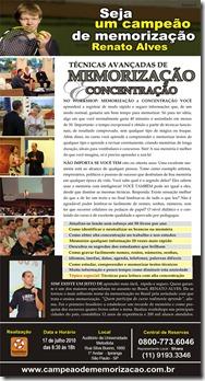 Curso de memorização e concentração em São Paulo
